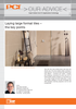 """""""Technical booklet about the safe and reliable laying large format tiles"""""""